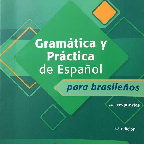 Livro de espanhol para brasileiros - em perfeito estado!!!