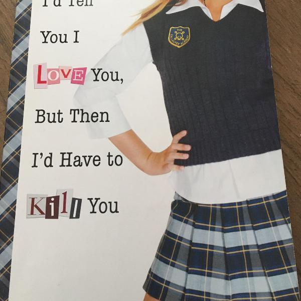 Livro id tell you i love you, but then id have to kill you