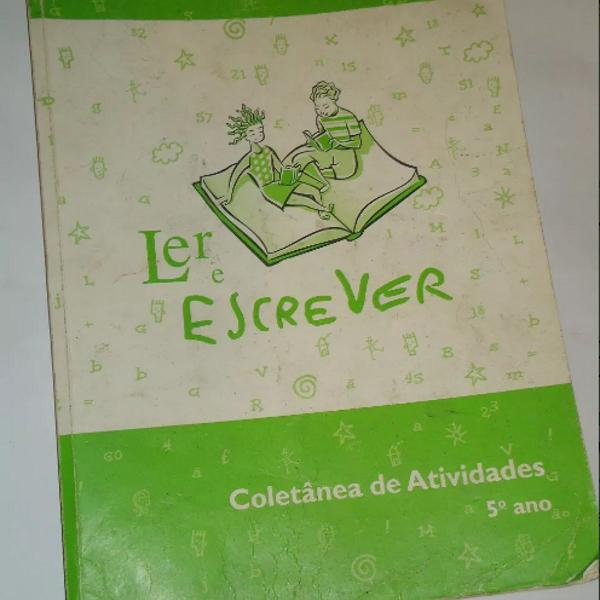 Livro ler e escrever coletânea de atividades do 5º ano