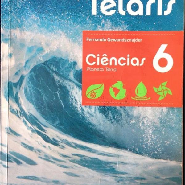 Livro projeto teláris ciências 6 - planeta terra