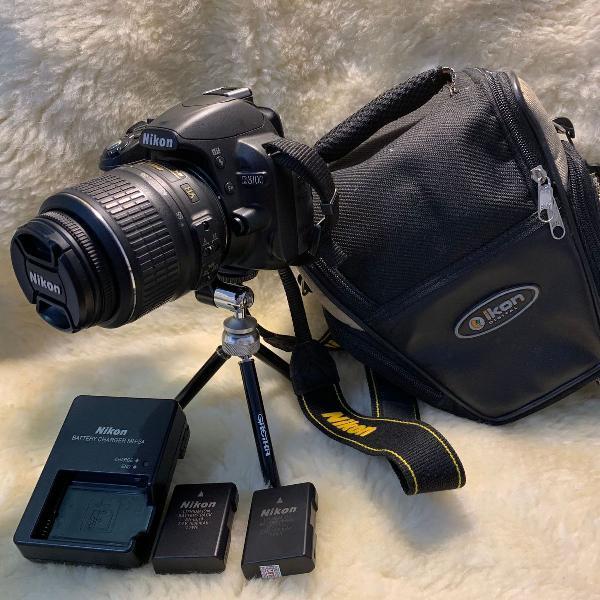 maquina fotográfica profissional nikon d3100