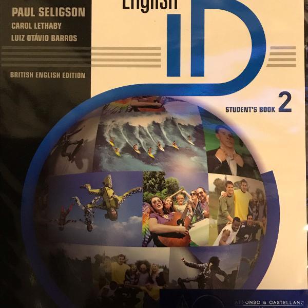 Material cultura inglesa entry - livros english id, richmond