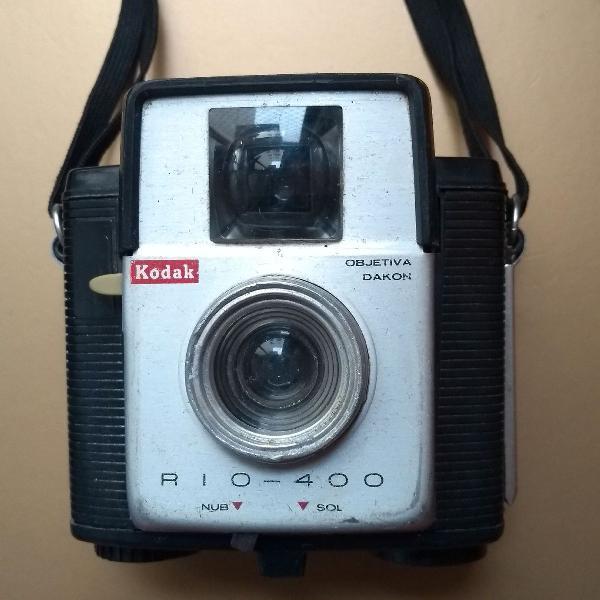 Máquina fotográfica kodak dos anos 60