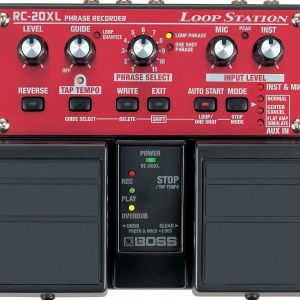 Pedal boss loop station rc-20 xl
