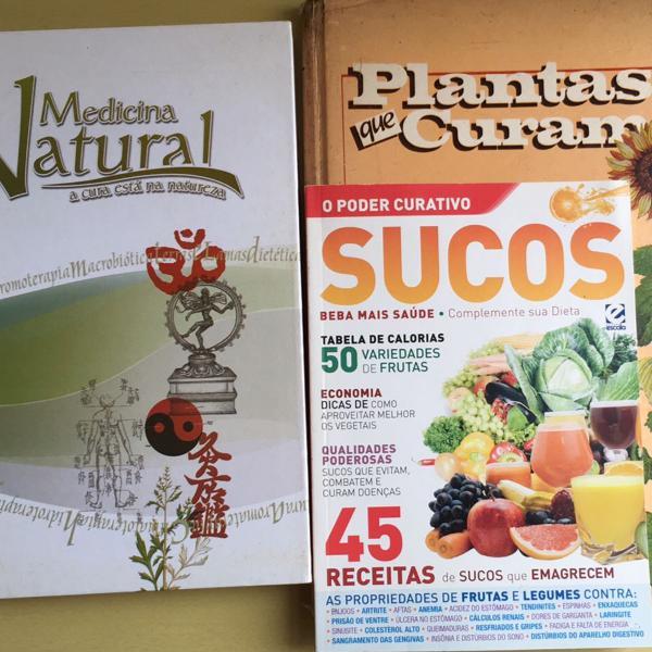 Série vida saudável: medicina natural + plantas que curam+