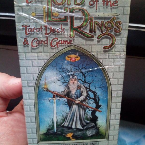 Tarô senhor dos anéis cardgame jogo de cartas lord of the