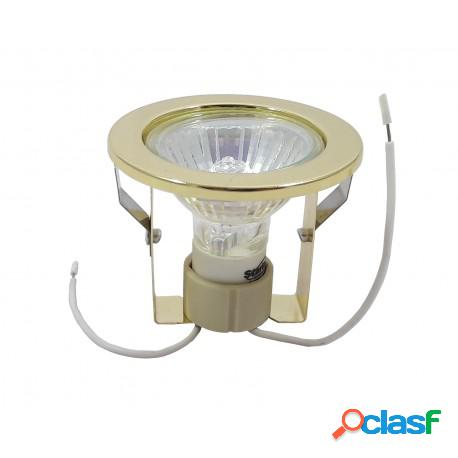 Kit Spot Completo Lâmpada Dicróica Pronto para Instalar