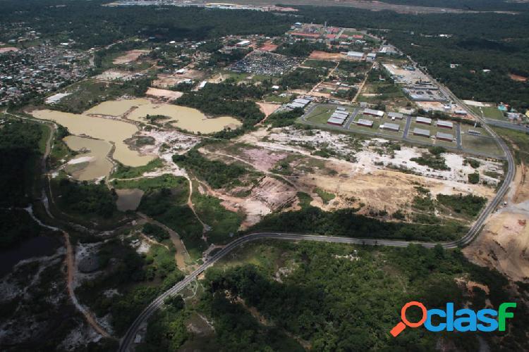 Vendo terreno com 310,000 m2 para empresa de grande porte na av. do turismo - manaus amazonas am