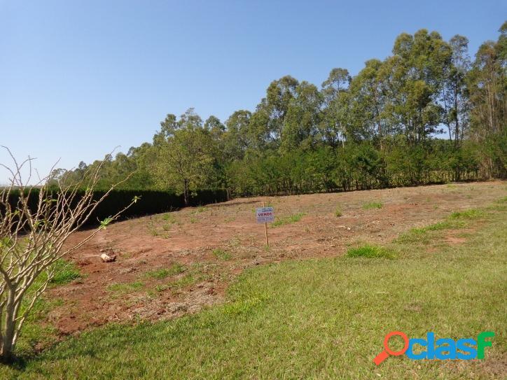 Terreno com 1.700 m², no condominio monte alegre, piraju-sp