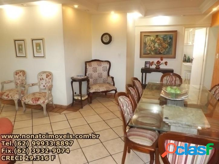 Apartamento 108m² sendo 3 quartos c/ suite setor bueno
