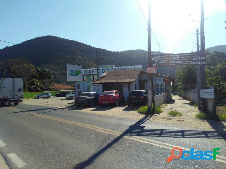 Imóvel comercial a venda e casa residencial nos fundos florianópolis rio vermelho norte da ilha belíssima praia do moçambique.
