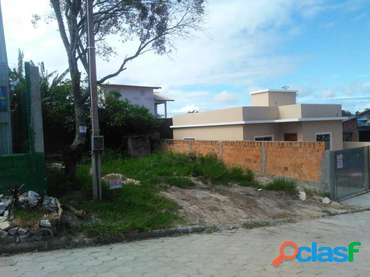 Terreno a venda com 142,50m². rua calçada florianópolis rio vermelho norte da ilha belíssima praia do moçambique.