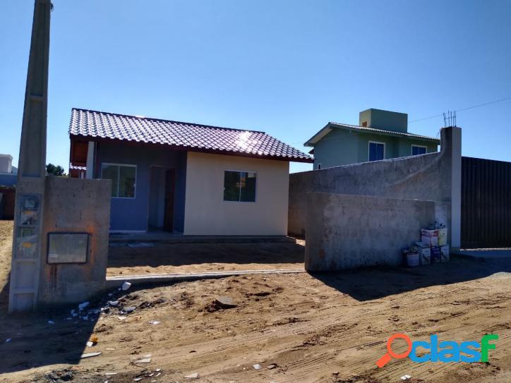 Casa nova a venda c/ 2 dorm. terreno murado florianópolis norte da ilha rio vermelho para linda praia para do moçambique