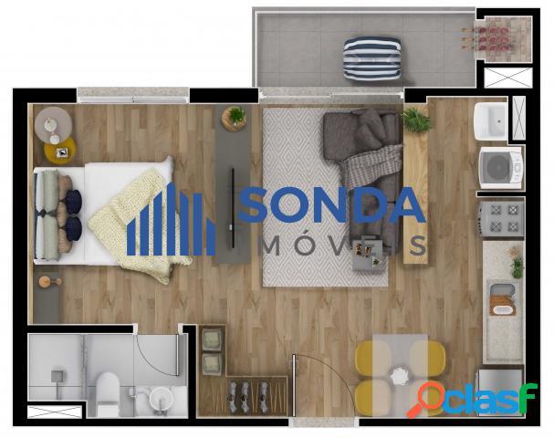 Apartamento 2 dormitórios com Suíte, 1 vaga, Petrópolis. 2