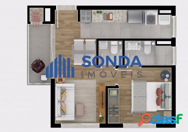 Apartamento 2 dormitórios com Suíte, 1 vaga, Petrópolis. 3