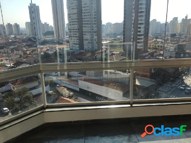 Apartamento de alto padrão 140 m²/ 3 dormitórios à venda no tatuapé.
