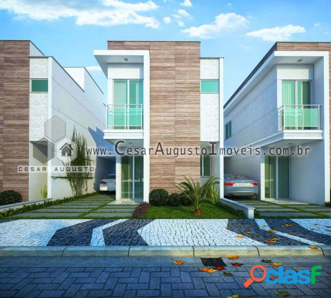 Benvida Condominio Club - Casa em Condomínio em Eusébio - Encantada por 367.200,00 à venda