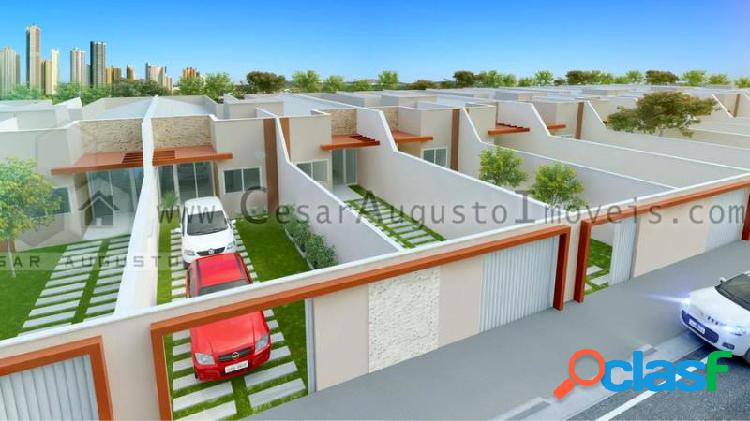 Casas Jade - Casa com 3 dorms em Eusébio - Urucunema por 169.000,00 à venda