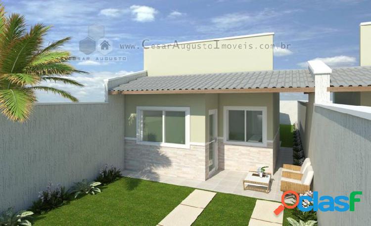 Jasmim Village - Casa com 2 dorms em Eusébio - Vereda Tropical por 145.000,00 à venda