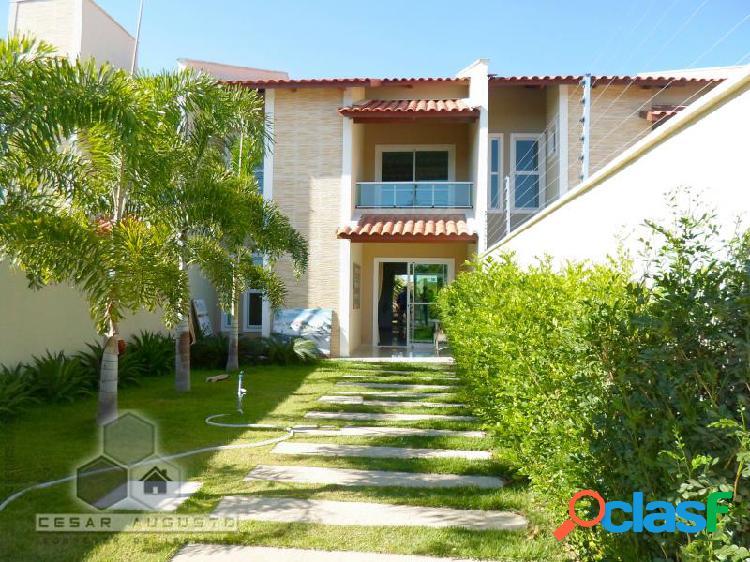 Maison Imperial Design - Casa com 4 dorms em Eusébio - Urucunema por 398.000,00 à venda