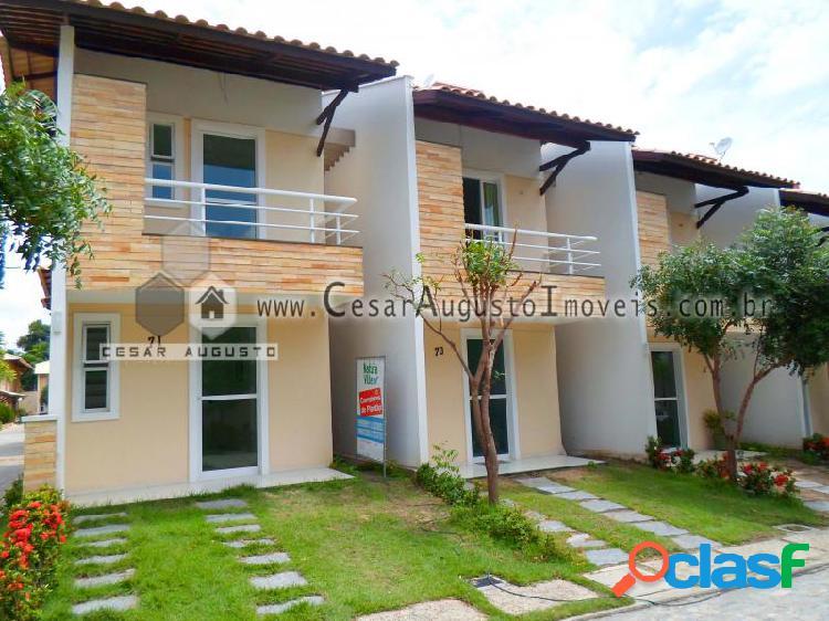 Residencial Natura Ville - Casa em Condomínio em Fortaleza - Lagoa Redonda por 263.000,00 à venda