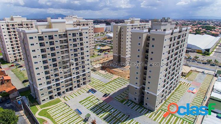 Vivendas Jóquei Ville - Apartamento com 3 dorms em Fortaleza - Jóquei Clube por 383.417,00 à venda