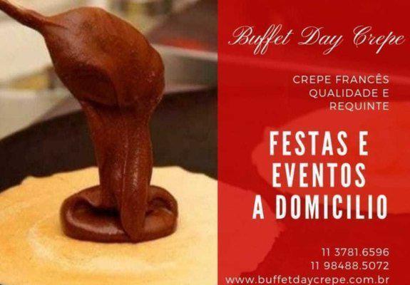 Buffet de crepe! (11) 3781-6596