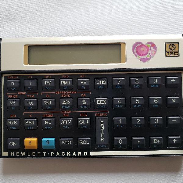 Calculadora científica hp 12c