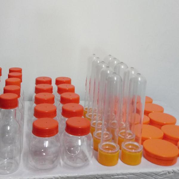 Embalagens para festa kit laranja 40 unid. baleirinhos