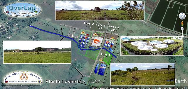 Lançamento condominio rural - camarão overlap