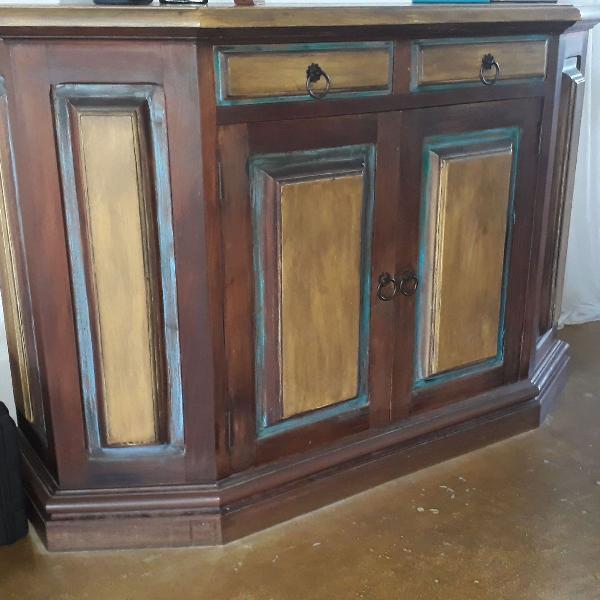 Arca madeira maciça