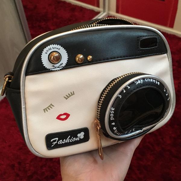 Bolsa câmera fotográfica