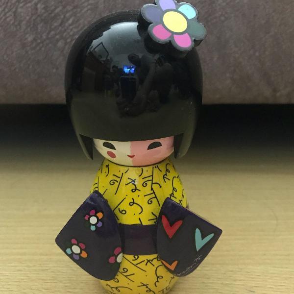 Boneca japonesa coleção romeiro brito