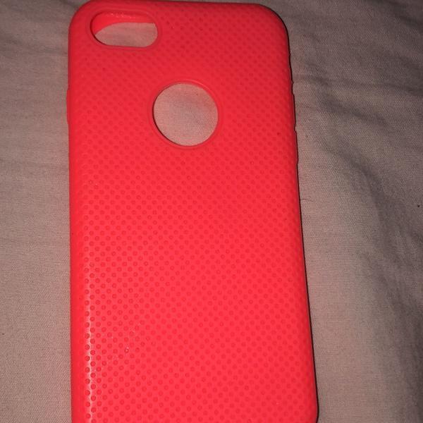 Capinha de silicone iphone 8