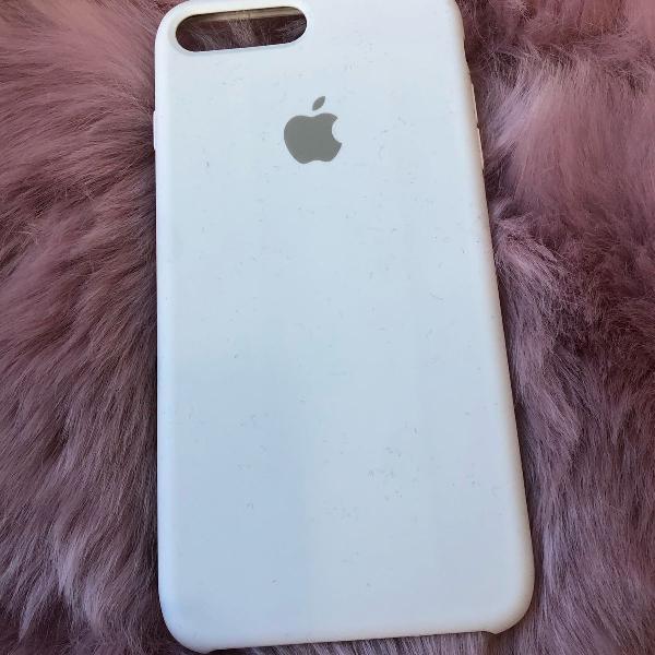 Capinha iphone 8 plus branca