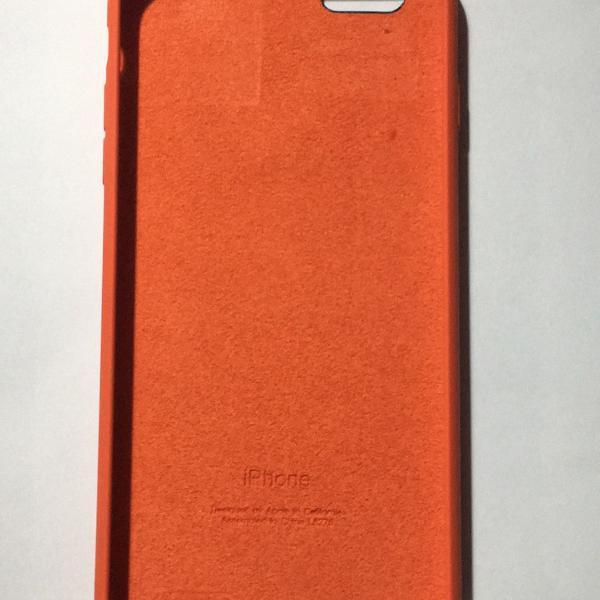 Case laranja iphone 6 plus