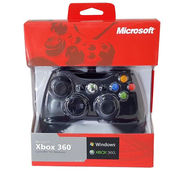 Controle xbox 360 96% original com fio