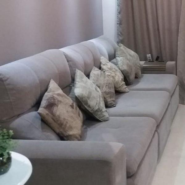 Estofado super confortável retrátil e reclinável