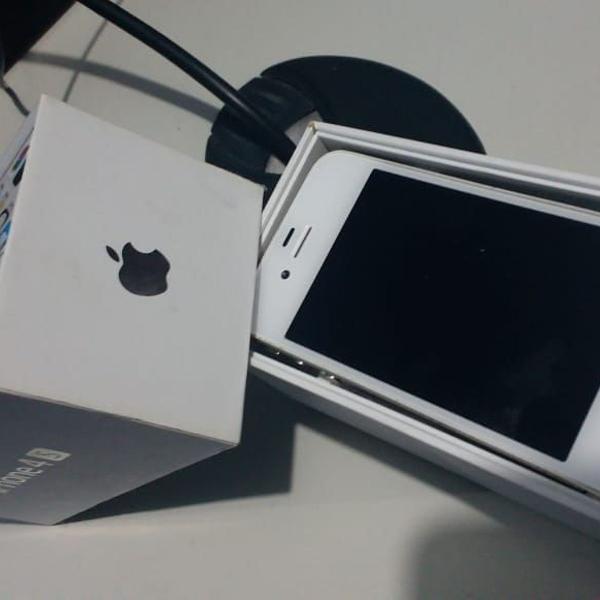 Iphone 4s 8gb branco **impecavél**