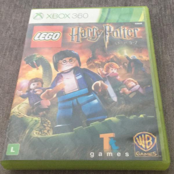 lego harry potter anos 5-7 xbox 360