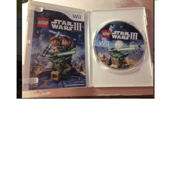 Lego star wars 3 nintendo wii completo usado impecável r$79