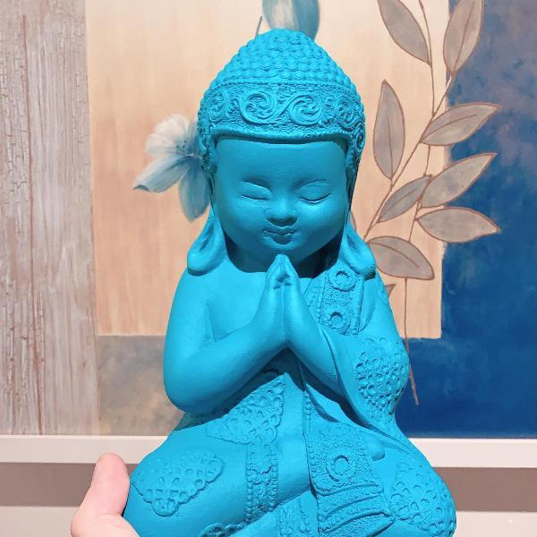 Monge azul turquesa