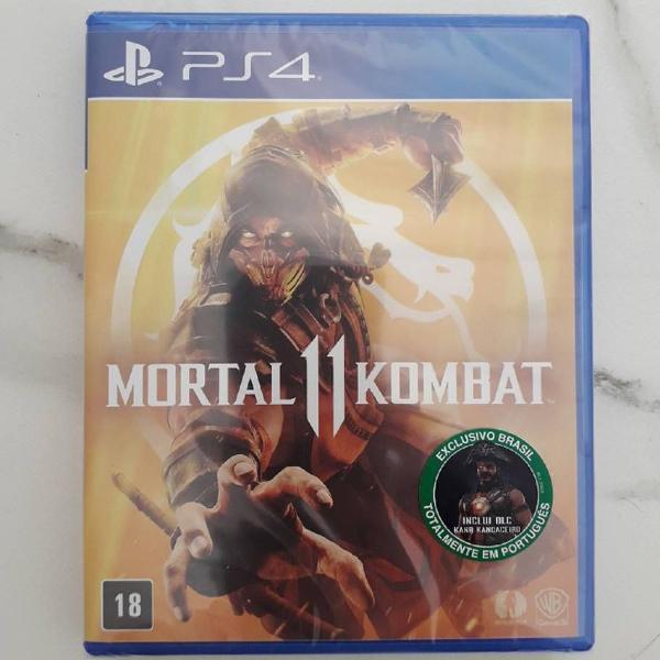 Mortal kombat 11 midia fisica novo em folha