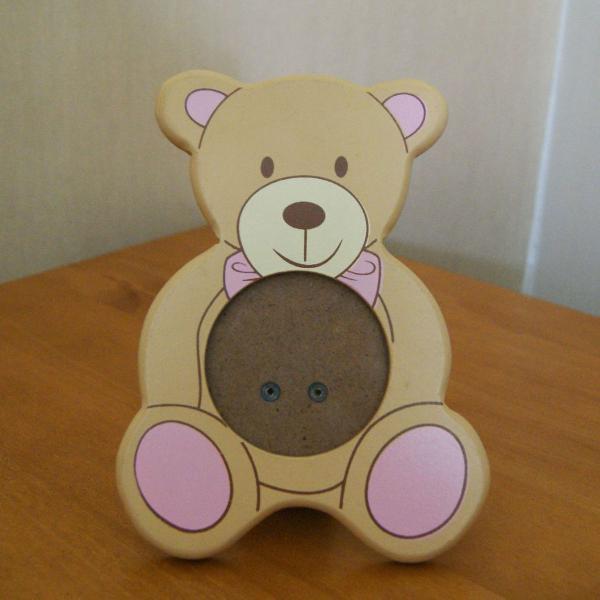 Porta-retrato ursinho