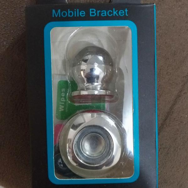Suporte veicular magnetico smartphone 360