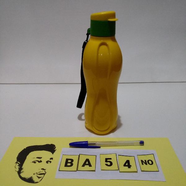 Tupperware garrafa eco tupper 500ml verde amarelo