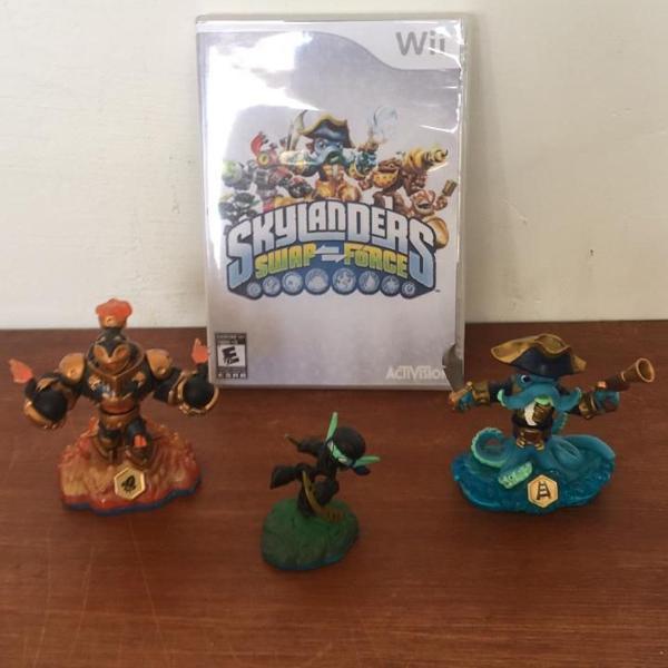 Wii - skylanders swap force: starter pack original americano