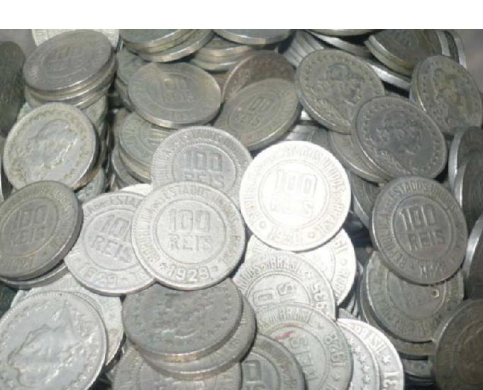 Moedas antigas a r$30 cada quilo. grandes estoques