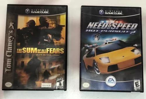 2 jogos de game cube originais