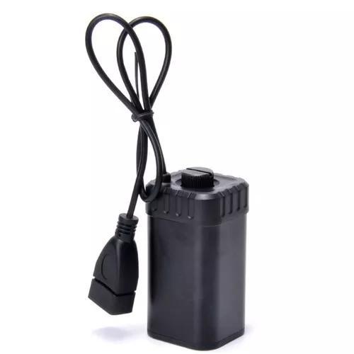 4x aa bateria titular estojo poder banco caixa poder forneci
